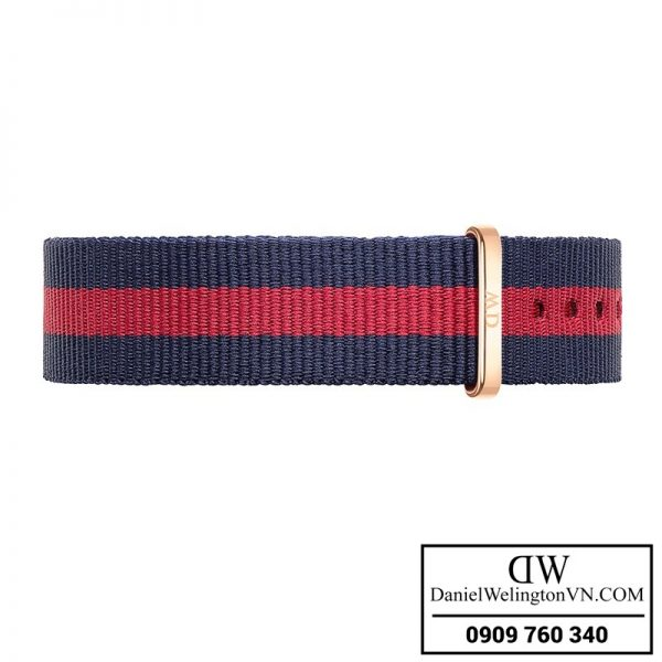 Dong ho Daniel Wellington Classic Oxford 36mm day NATO xanh do
