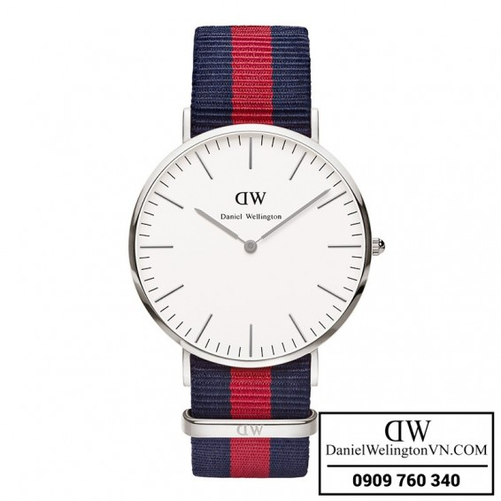 Dong ho Daniel Wellington Classic Oxford 40mm Day NATO xanh do 0201DW