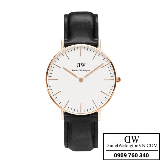 Dong ho Daniel Wellington Classic Sheffield 36mm Mat vang Rose Gold