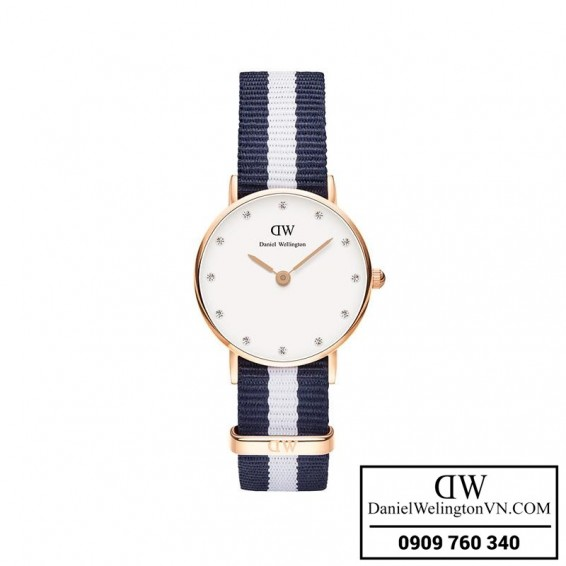 Dong ho Daniel Wellington Classy Glasgow 26mm Day Vai NATO 0908DW
