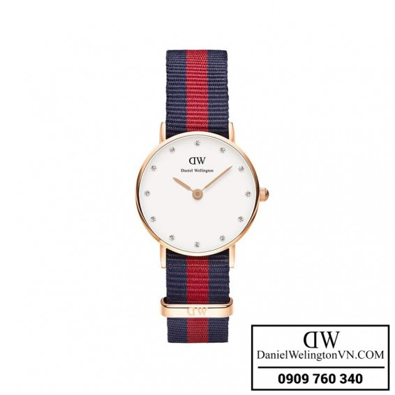 Dong ho Daniel Wellington Classy Oxford 26mm Day Vai NATO 0905DW
