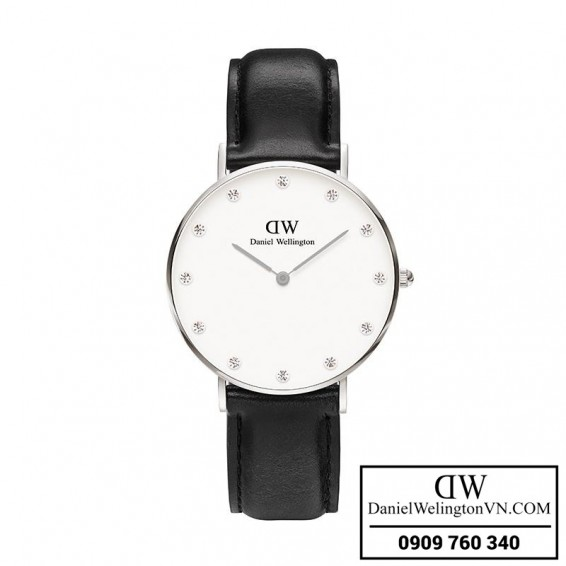 Dong ho Daniel Wellington Classy Sheffield 34mm Day Da Den 0961DW