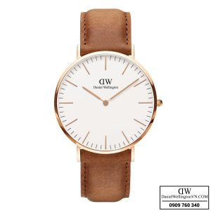 Dong ho Daniel Wellington Classic Durham 40mm Rose Gold