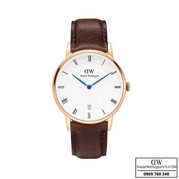 Dong ho Daniel Wellington Dapper 34mm Bristol Rose Gold