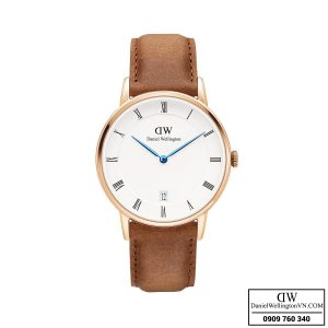 Dong ho Daniel Wellington Dapper 34mm Durham Rose Gold