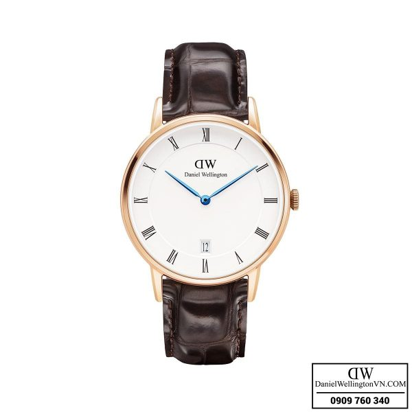 Dong ho Daniel Wellington Dapper 34mm York Rose Gold
