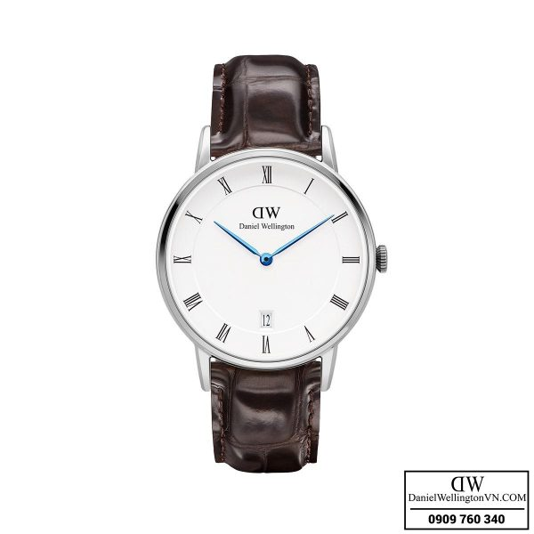 Dong ho Daniel Wellington Dapper 34mm York Silver
