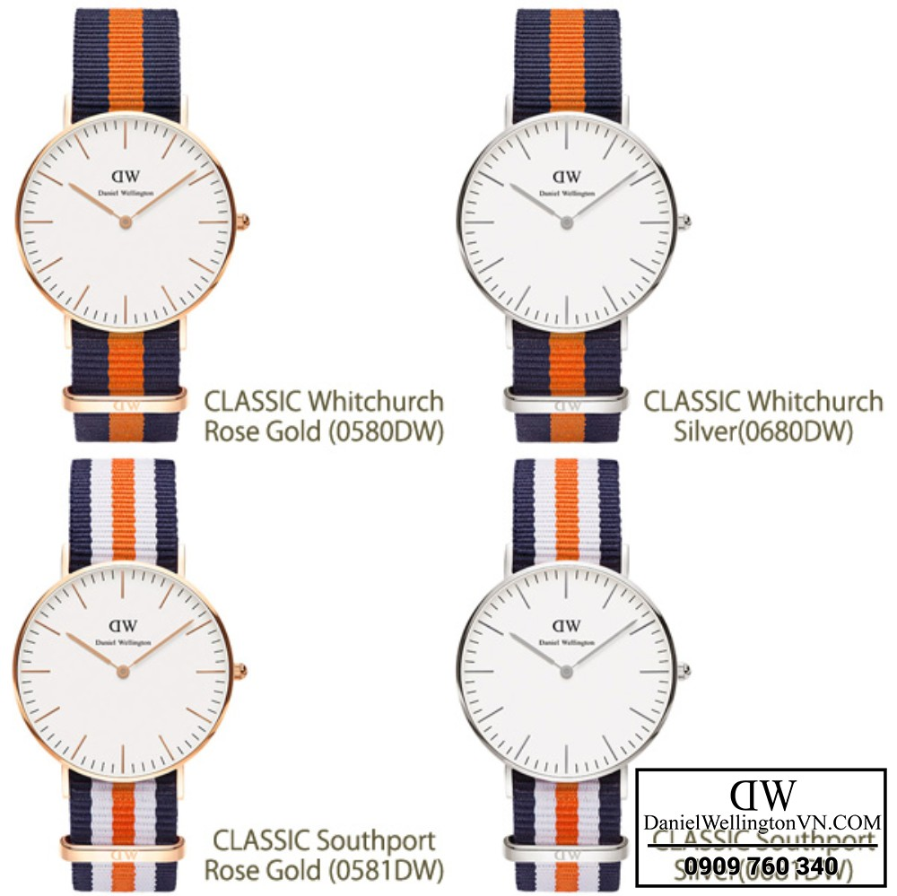 Daniel Wellington Classic Bedford va Southport Chinh Hang (2)