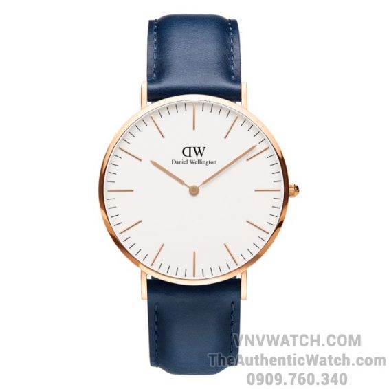 Dong ho DW Classic Somerset 40mm RG chinh hang DW00100121