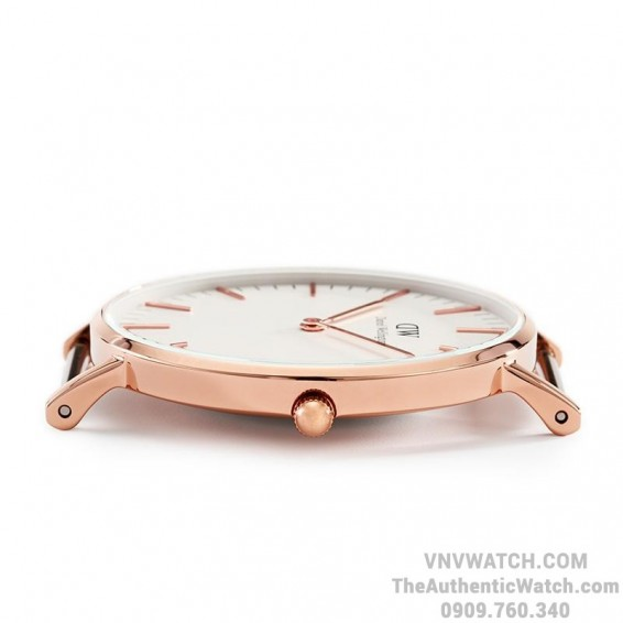 Dong ho Daniel Wellington Classic Chinh Hang 36mm Rose Gold