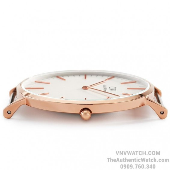 Dong ho Daniel Wellington Classic Chinh Hang 40mm Rose Gold