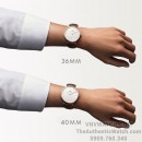 So Sanh Daniel Wellington 36mm 40mm tay nu