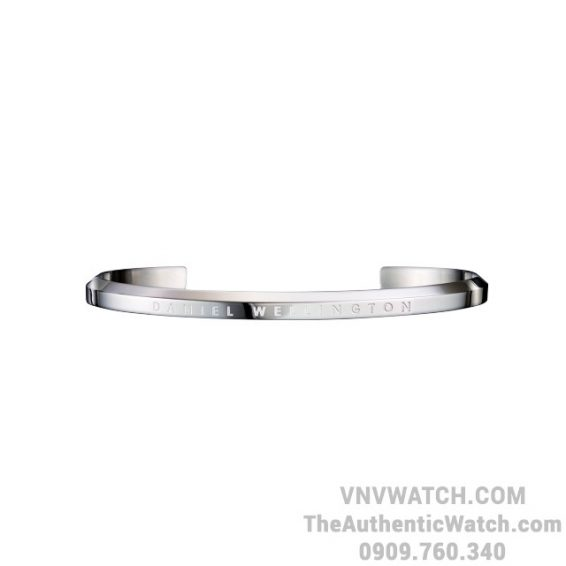 Vong Tay DW Classic Cuff Small Silver