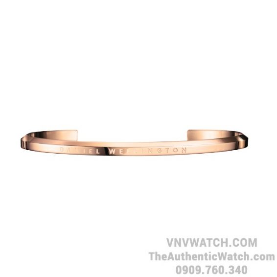 Vong tay DW Classic Cuff Large Rose Gold