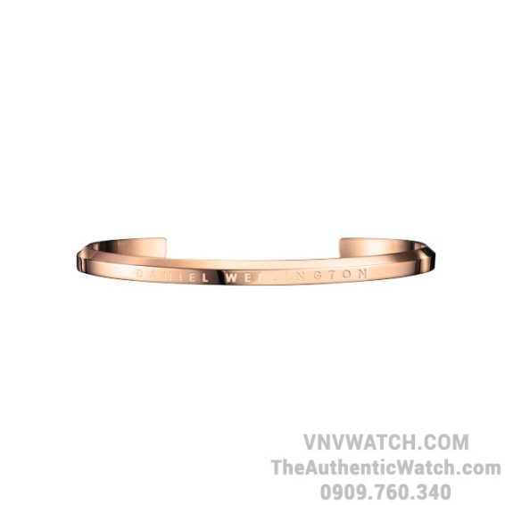 Vong tay DW Classic Cuff Small Rose Gold