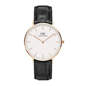 Dong ho Daniel Wellington Classic Reading 36mm RG Day Da Ca Sau Den