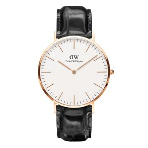 Dong ho Daniel Wellington Classic Reading 40mm RG Day Da Ca Sau Den